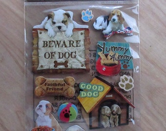 Dog Stickers~Puppy~Super Cute!