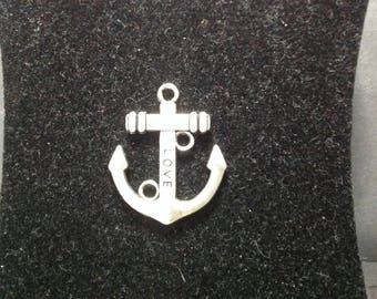 Love charm Navy anchor