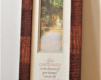 Framed Thoreau Quote Go confidently in the direction of your dreams