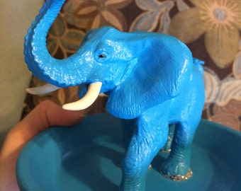 Elephant jewelry holder/ stand