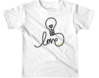 Love is lit // Toddler Kids Graphic Tee