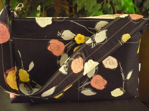 Rose Bouquet Purse Diaper Bag