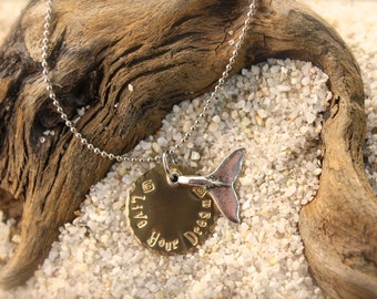 Whale Live Your Dream Necklace SALE!