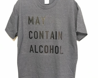 Men's Alcohol Shirt
