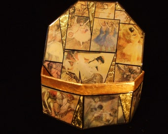 "Edgar Degas ""The Dancers"" Decorative Box"
