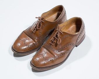 CHURCH's-Brogues brown leather-brown leather Brogues