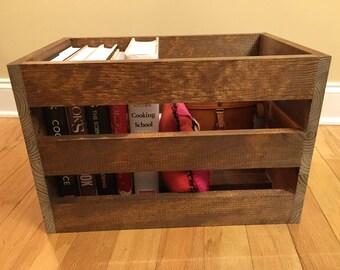 Vintage Crate, Nightstand, Side Table, Weddings, Wedding, Wedding Decor, Storage Box, Storage Crate, Rustic Wood Crate, Wood Crate