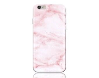 For Samsung J1 / Amp 2 #Pink Marble Design Hard Phone Case