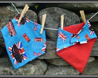 Bandanna Bibs - Set of Two