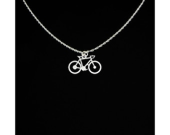 Bicycle Necklace - Bicycle Gift - Bicycle Jewelry