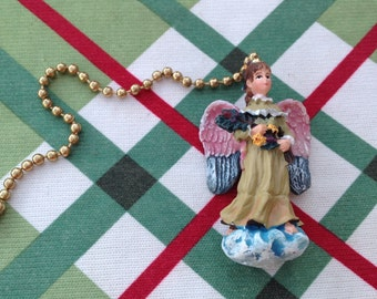 Angel Ceiling Fan or Light pull, Angel,Free Shipping, L@@K