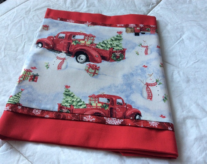 SALE-Going To Grandmas with Red Table Runner