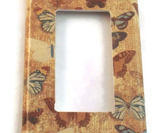 Rocker Light Switch Cover Wall Decor Switchplate   Switch Plate in  Vintage Butterfly (224R)