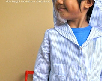 PDF Pattern - Quinn Jacket for 4 - 10 years old.