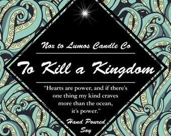 To Kill a Kingdom inspired by Alexandra Christo