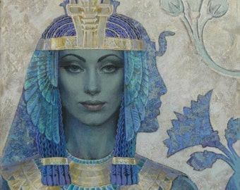Egyptian Blue Lotus Lily elixir for awakening consciousness