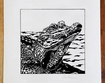 Alligator Print