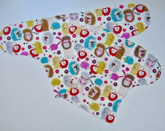 Made to Order - Sweater Weather OBF Hybrid Fitted Diaper - OS Hybrid Fitted Cloth Diaper - OS Fitted Diaper with Fold Down Rise