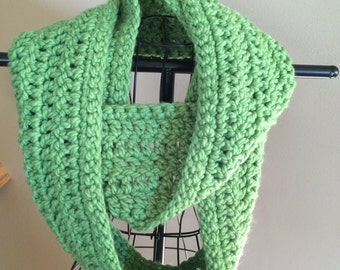 Infinity Scarf - Lime Green