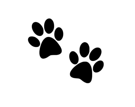 Paw Print Stickers Nz