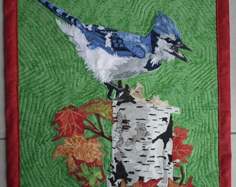 True North Strong and Free Bird Quilt
