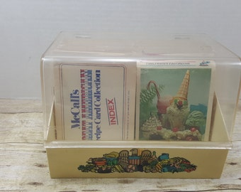 Great American Recipe Card Collection, 1973, recipe box, recipe file, recipe cards, vintage cookbook