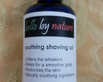Soothing Shaving Oil, 30ml