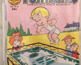 Vintage Richie Rich -Fortunes Series - No. 27 - Harvey Comics