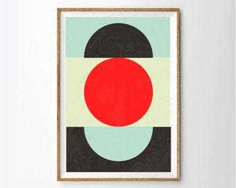 Geometric art, minimalist art, candy colors, abstract art, abstract poster, geometric prints, geometrics, abstract wall art, wall decor