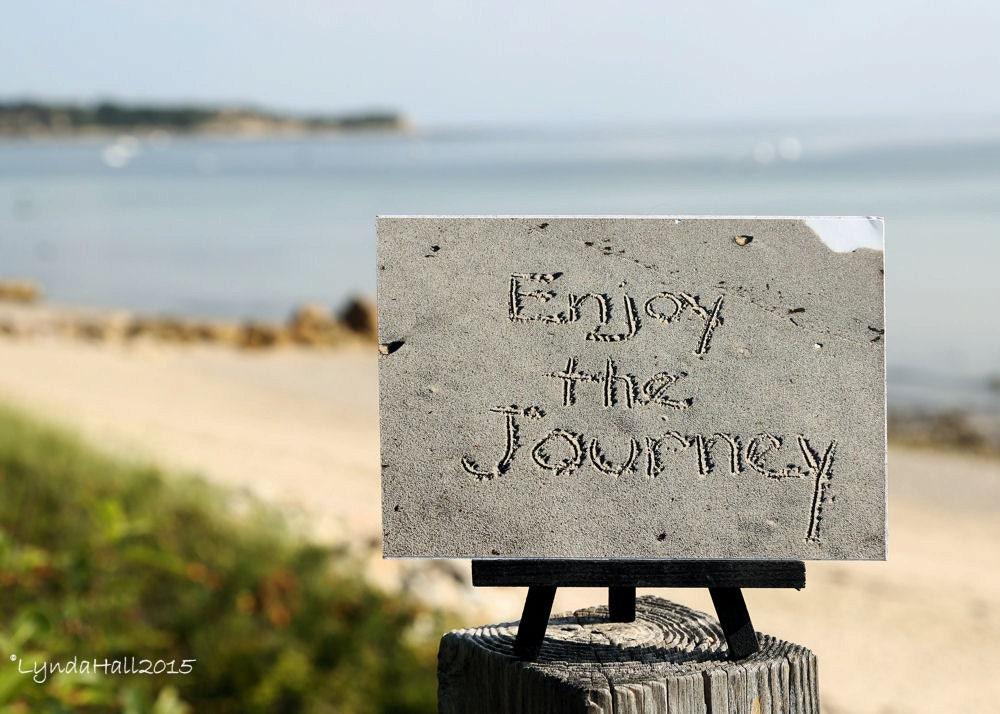 Playa tema foto impresión disfrutar el viaje el sentimiento
