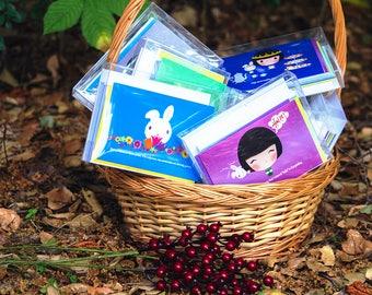 Bunnylou Tea Musings Notecards