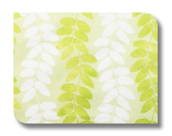Decoupage paper napkin serviette.  For decoupage, mixed media, collage, scrapbooking x 1 No. 1131 Leaves Dance