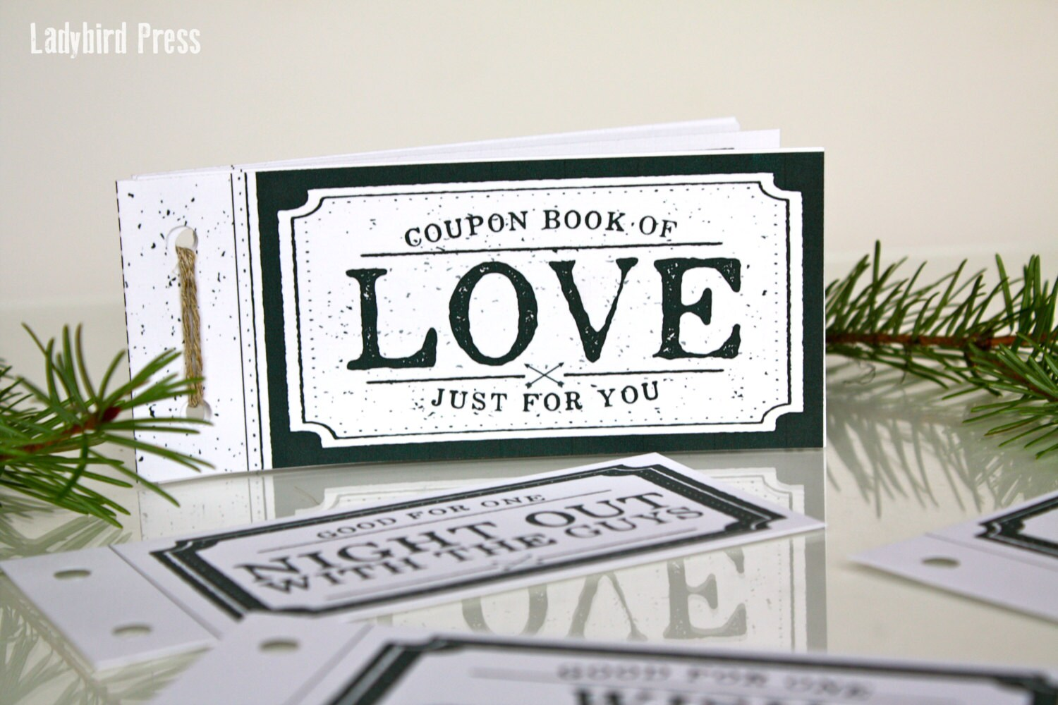 Love Coupon Book Valentine Gift for boyfriend for husband