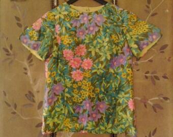 60s flower power Alex Colman blouse
