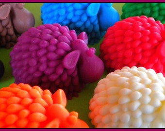 Sheep Soap - Baby Shower - Lamb - 3D - Soap for Kids - Free U.S. Shipping - Choose your scent and color
