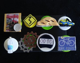 Bicycle Push Pins