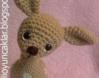 Gehäkelte Baumwolle Bambi