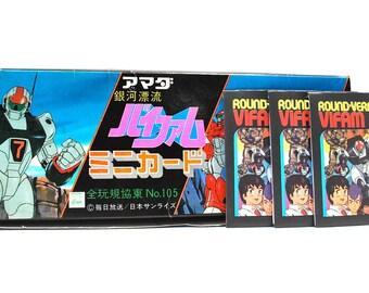 3 Round Vernian Vifam Sticker Packs Japanes Imports