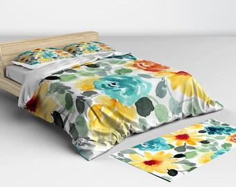 Comforter, Pillow Shams, Duvet Cover, Duvet Cover King, Duvet Cover Queen, Queen Bedding, Doona Cover, Bedspreads, Bed Set, Bedroom Decor