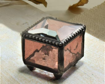 Mini jewelry box Etsy