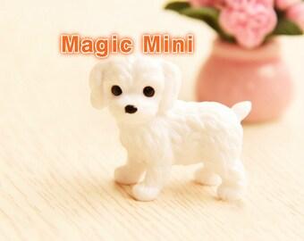 Dolls House Miniature Cute Puppy