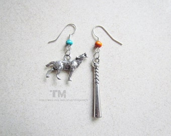 The Boy and the Wolf – Teen Wolf Inspired Earrings