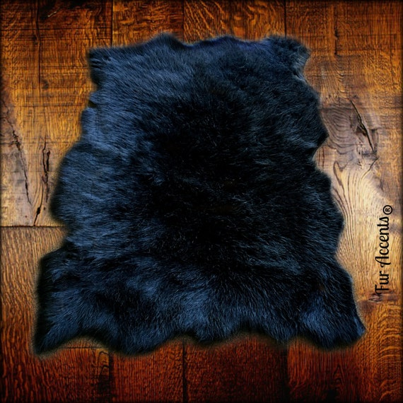 Faux Fur Sheepskin Rug Tattered Edge Sheep Skin Shaggy