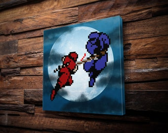 Ninja Gaiden Canvas Print