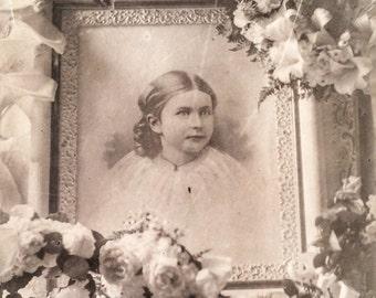 Memento Mori Funeral Photo Gladys Hockaday Oklahoma