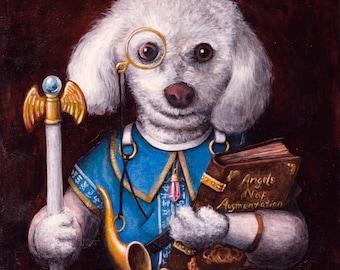 Fantasy Pet Portrait Painting