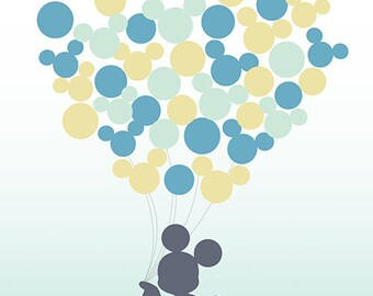 Disney-themed Baby/Bridal Shower Signing Poster - Digital/Self-Print