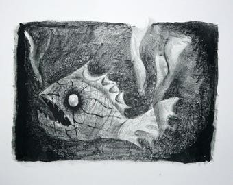 Lithograph,  Deep Sea