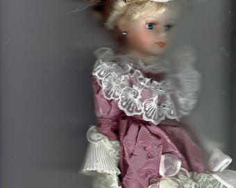 lady margaret  age of elegance victorian doll collection 1980's