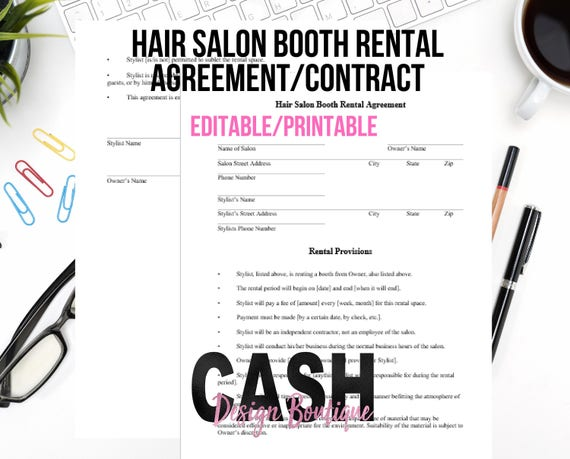 Photo Booth Contract